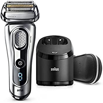 Braun Series 9290CC Men's Electric Foil Shaver / Electric Razor, Wet & Dry, Travel Case with Clean & Charge System
