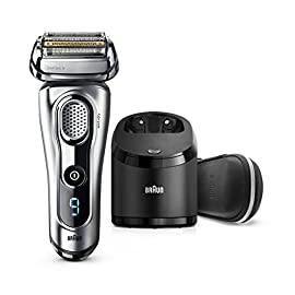 braun series 9 9290cc electric razor for men - 41iNhcEKxJL - Braun Electric Razor for Men, Series 9 9290cc Electric Shaver With Precision Trimmer, Rechargeable, Wet & Dry Foil Shaver, Clean & Charge Station & Travel Case