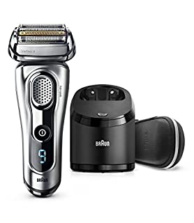 Braun Series 9 9290cc Electric Razor for Men, Rechargeable and Cordless Electric Shaver, Foil Shaver, Silver, with Clean&Charge Station and Travel Case (B01M716CC2) | Amazon price tracker / tracking, Amazon price history charts, Amazon price watches, Amazon price drop alerts