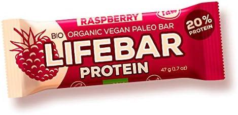 Lifefood Lifebar Proteina Frambuesa Barritas Energeticas 100 ...