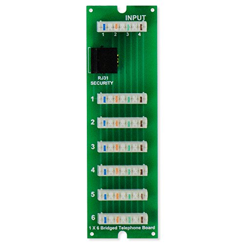 - ON-Q Telecom - Mdu 1X6 Telephone Board (TM0106)