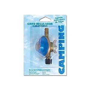 butsir, r-340, grifo regulador giratorio botella azul