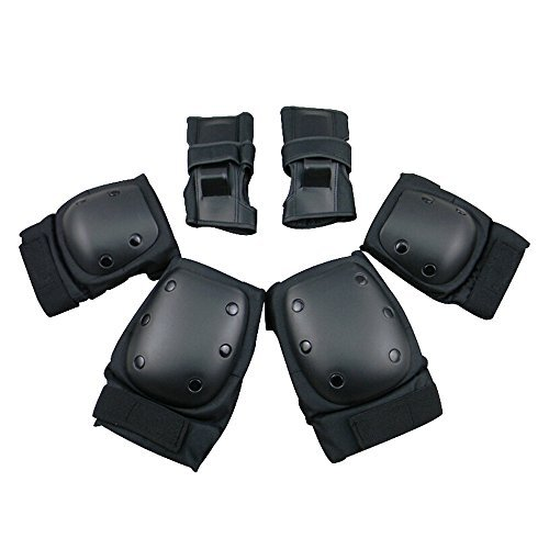 CW-Childs-Sports-Protective-Gear-safety-pad-Safeguard-Knee-Elbow-Wrist-Support-Pad-Set-equipment-for-Childs-roller-bicycle-BMX-bike-skateboard-Scooter-Hoverboard-extreme-sports-bogu-protector-Guards-P