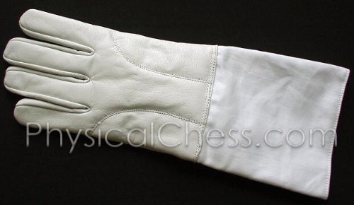 Leather Palm and Back Fencing Foil Sabre Glove