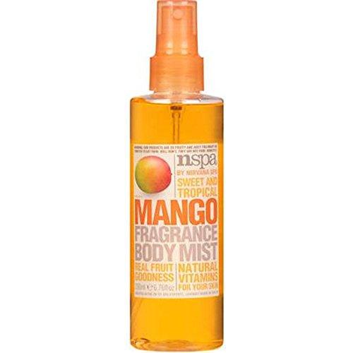 nspa Sweet and Tropical Mango Fragrance Body Mist