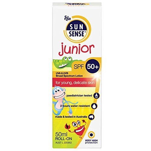 SunSense Junior SPF 50+ Roll-On (UVA/UVB) 50ml (2 Pack)