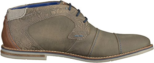 Bugatti 312111101500, Zapatos de Cordones Derby para Hombre gris