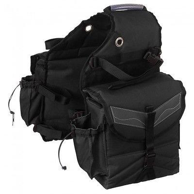 Tough-1 Multi-Pocket Saddle Bag (1 Seat Bag)
