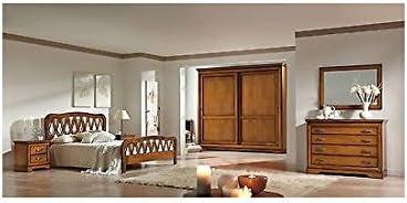 Camera Da Letto Matrimoniale Arte Povera.Estea Mobili Camera Matrimoniale Completa Armadio Letto Como