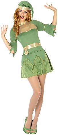 Atosa- Disfraz mujer duende, Color verde, M-L (14758): Amazon.es ...