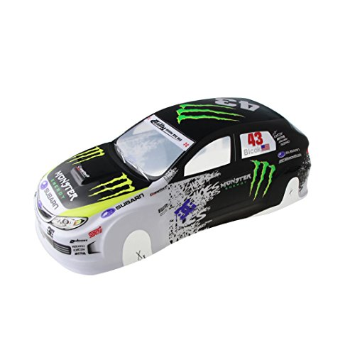 Coolplay 1/10 PVC Painted 190mm Body Shell RC Racing Car Accessories ()