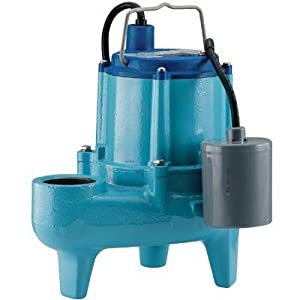 Little Giant Automatic Sewage Ejector Pump With Float