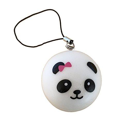 Squishy Uae : panda bear bun with pink bow squishy cellphone charm by Kawaii - Buy Online in UAE ...