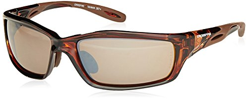 CrossFire Crossfire Safety Glasses Infinity Brown Frame Hd Brown Mirror Lens - Frame Brown Mirror Lenses
