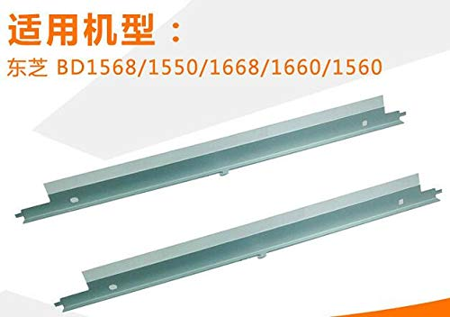 (Printer Parts Compatible Cleaning Blade for Toshiba BD-1568/1550/1668/1660 Copier Drum Cleaning Scraper Blade)