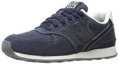 New Balance Women 696 Lifestyle Fashion Sneaker Navy
