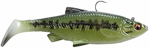 leurre pour p/êche au brochet Savage Gear 3D 26 cm 130 g Hard Pike wobbler Swimbait pour brochet couleur : Striped Pike app/ât pour brochet