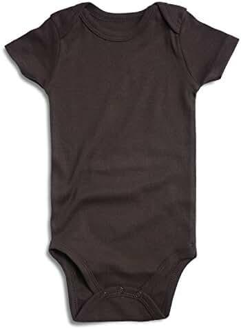 Romperinbox Unisex Solid Baby Bodysuit 0-24 Months