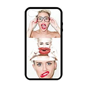 Generic Miley Cyrus Custom Cover Case For IPhone4/IPhone4S (Laser Technology)