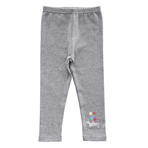 benetia Girls Cotton Leggings Toddler Clothes Autumn Winter Size 2t 3T Gray ()