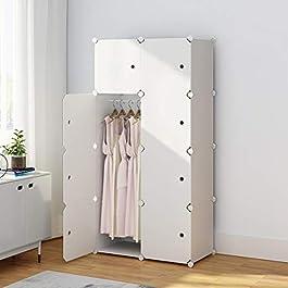 KOUSI Portable Wardrobe Clothes Closet RBYG-B