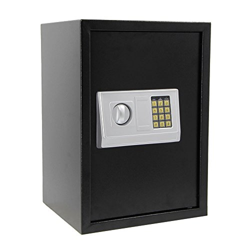 Furniture Classics 6 Gun Cabinet - Goujxcy safes,2-Layer Iron Security Safe Deposit Box with Digital Keypad for Home Office and Hotels to Store Cash Jewelry Passport Guns 19.68