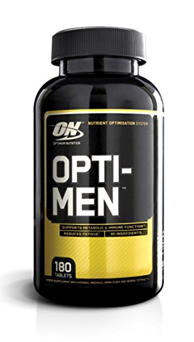 Optimum Nutrition Opti-Men Daily Multivitamin Supplement, 180 Count