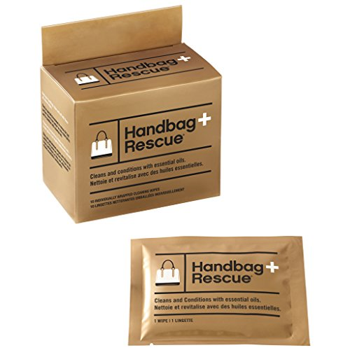 HandBagRescue All-Natural Cleaning Wipe for Leather Handbags.