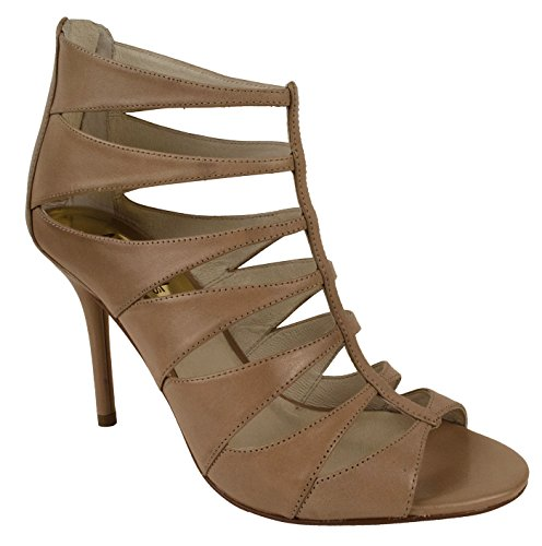 Sandals Kors Toe Michael Open (MICHAEL Michael Kors Mavis Open Toe Dark Khaki Sandals Shoes (11))