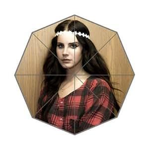 RainbowRain Lana Del Rey Wind and Rain Foldable Umbrella