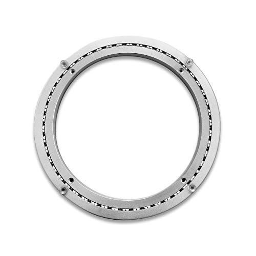 Lifetime Products Troops BBQ Lazy Susan Turntable Ring - Heavy-Duty Aluminum Lazy Susan Bearing Hardware Single-Row Ball Bearings for Heavy Loads (450 lbs. Capacity) - 12 Inches