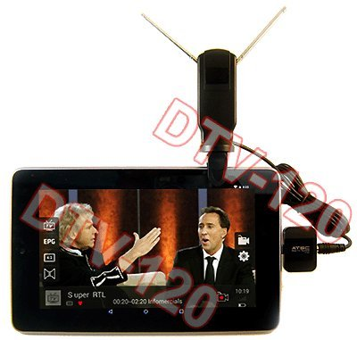 Android Digital ATSC TV Tuner Receiver Tablet Smart Phone