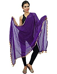 Indian Dupatta Chiffon Neck Wrap Long Stole Chunni Throw Scarf
