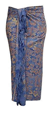 Aprox. 100 Modelos en Shop sarong Toalla de playa Pareo Falda Azul ...