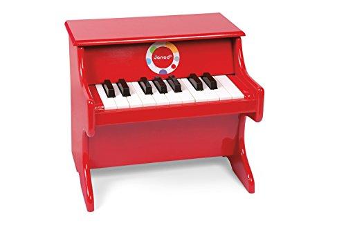 Janod - J07622 - Piano Confetti Bois