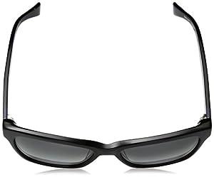Cole Haan Women's Ch7009 Plastic Cateye Sunglasses, Black, 58 mm