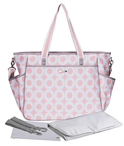 Bellotte Diaper Bags - Cute Tote - Matching Baby Changing