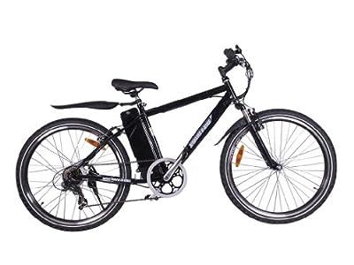 X-Treme Alpine Trails Electric Mountain Bicycle (Black)