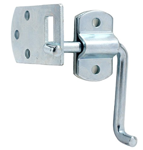Pkg of (2) Corner Gate Latch Sets for Stake Body Gates - Clear Zinc ()