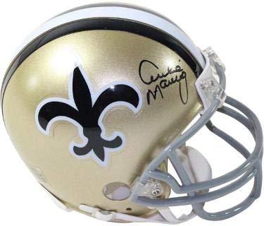 - Archie Manning Autographed Mini Helmet - Riddell Throwback Hologram - Steiner Sports Certified - Autographed NFL Mini Helmets