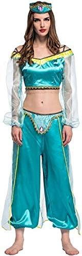Disfraz inspirado en jazmín genie para adultos, tallas 36 a 46 ...