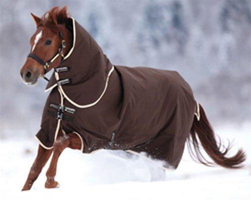 Horseware Amigo Bravo 12 Medium Turnout Rug Black Black & Red 6-0
