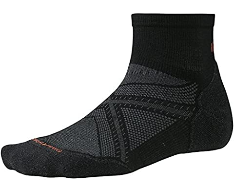 Smartwool PhD Run Light Elite Mini Socks (Black) Large