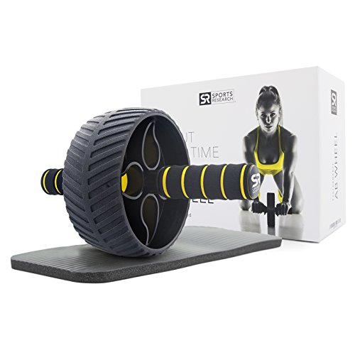 """Sports Research Ab Wheel (3"""") 