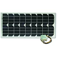Go Power! GP-RV-20 20-Watt Solar Kit with 4.5 Amp Regulator