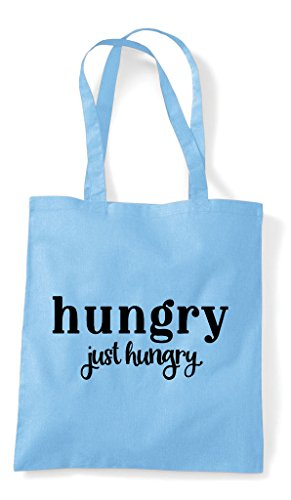 Tote Just Blue Statement Shopper Sky Bag Hungry qO48aEwnzw