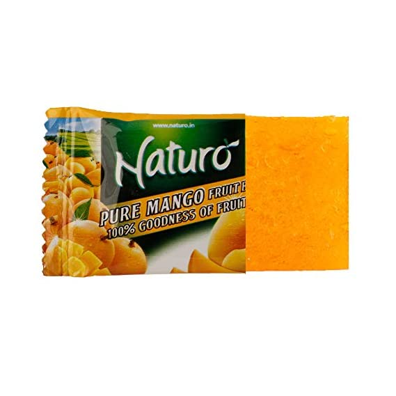 Naturo Mango Fruit Bar Lunch Box 11g- Pack of 20