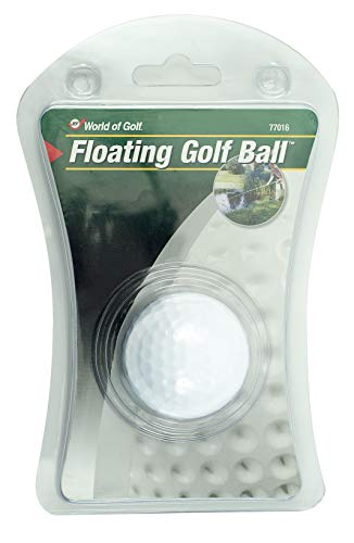 Jef World of Golf Gifts and Gallery, Inc. Floating Golf Ball White