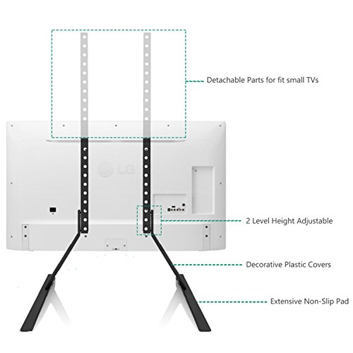 """Stand Table Top for Most 22""""-65"""" LCD Flat Screen TV,VESA up to 800x400mm TVS001"""