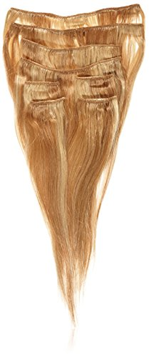 Supermodel Clip In Human Hair Extensions 14 -inch Colour 18/22 Ash Brown and Blonde